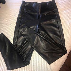 Athleta Faux Leather Leggings